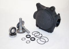 Differential case kit with shafts and bearings