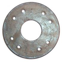 Leather disc for supercharger coupling