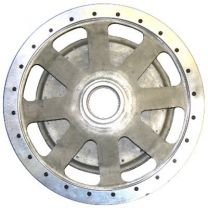 Alloy wheel 330mm drum