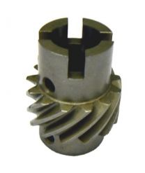 Vertical drive helical gear with cross drive