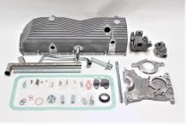 Dry sump kit for alluminium block