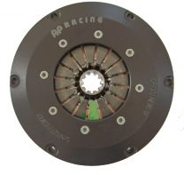 "Clutch 7 1/4 triple plate with 1 1/8"" 10 spline clutch plates"